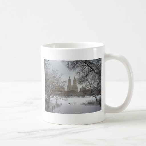 Central Park in the Snow, New York City Mugs