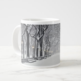 Central Park in Winter 2 Large Coffee Mug