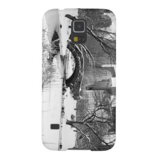 Central Park in Winter Galaxy S5 Case