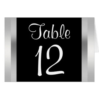 Central Park Lake, San Remo NYC Table Number Card