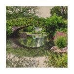 Central Park Landscape Photo Wood Canvases