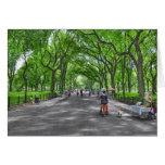 Central Park literario del paseo, Nueva York Felicitación