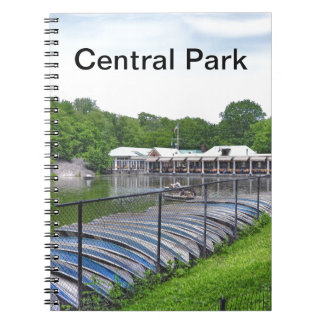 Central Park - Loeb Boathouse Notebook