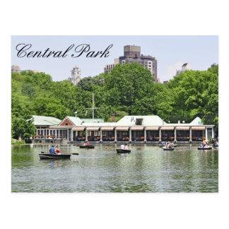 Central Park - Loeb Boathouse Postcard