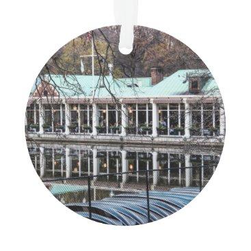 Georgina_Photography Central Park Loeb Restaurant Boathouse Ornament