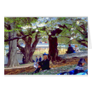 Central Park Manet Card