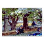 Central Park Manet Tarjeta De Felicitación