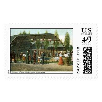 Central Park Menagerie, New York City 1909 Vintage Stamps