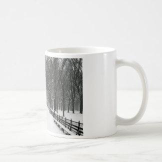 Central Park Classic White Coffee Mug