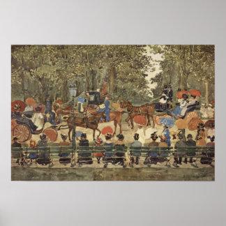 Central Park, New York, 1901 Poster