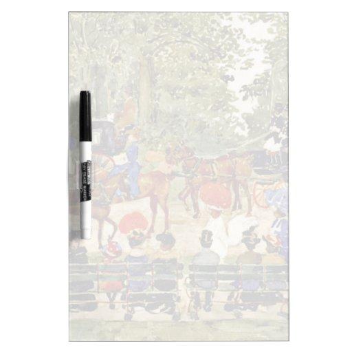 Central Park, New York City de M. Prendergast Tablero Blanco