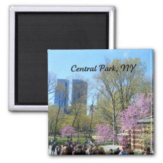 Central Park, New York City Imán Cuadrado
