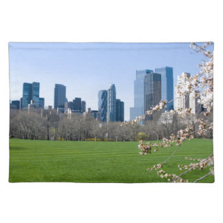 Central Park New York City in Spring - Placemat Cloth Placemat