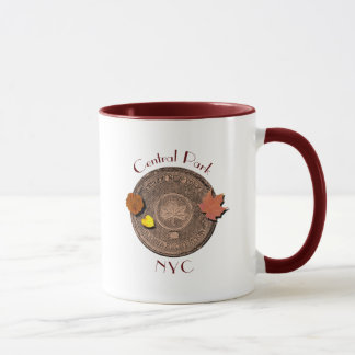 Central Park New York City Mug