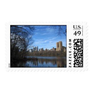Central Park New York City Postage