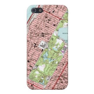 Central Park New York City Vintage Map iPhone SE/5/5s Case