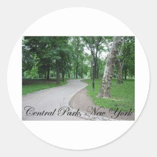 Central Park, New York Classic Round Sticker