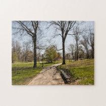 Central Park New York. Jigsaw Puzzle