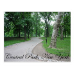 Central Park, New York Postcards