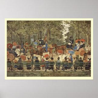 Central Park, Nueva York, 1901 - frontera poner cr Impresiones