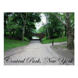Central Park Nueva York 2 Tarjeta Postal