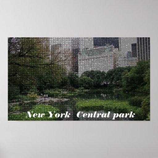 Central Park, Nueva York Poster