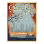Central Park, NYC - caída Postales