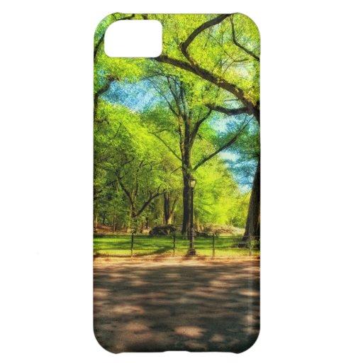 Central Park NYC del caso del iPhone 5
