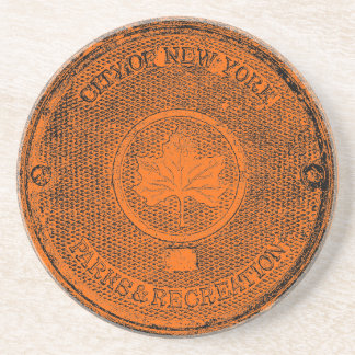 Central Park NYC Drink Coasters