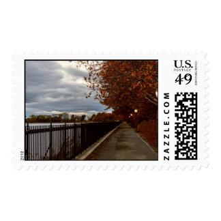 Central Park NYC en otoño Sellos