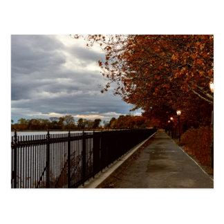 Central Park NYC en otoño Tarjetas Postales