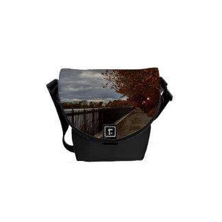 Central Park NYC in Autumn Courier Bags