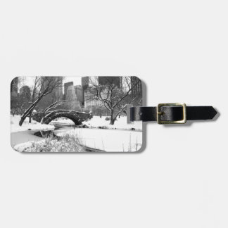 Central Park NYC in Winter - Luggage Bag Tag