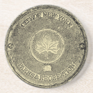 Central Park NYC Posavasos Personalizados