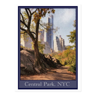 Central Park, NYC Postcard