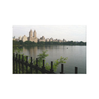 Central Park NYC Reservoir New York City Photo Canvas Print