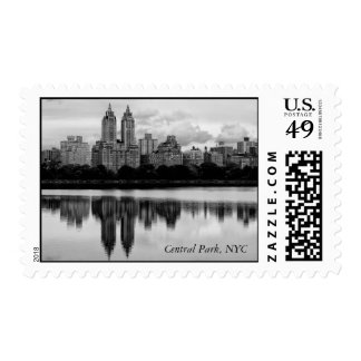 Central Park, NYC Skyline Postage