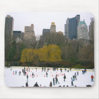Central Park NYC Wollman Rink Mousepad