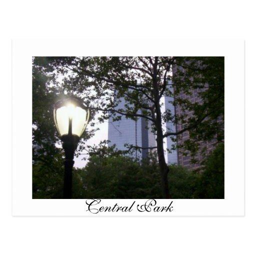 Central Park Post Card