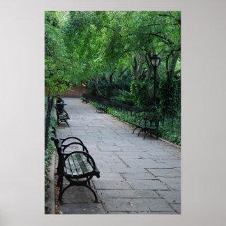 Central Park Poster