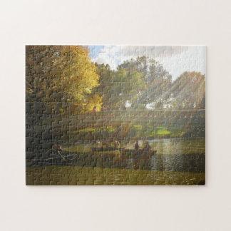 Central Park Puzzle - Bow Bridge - New York City