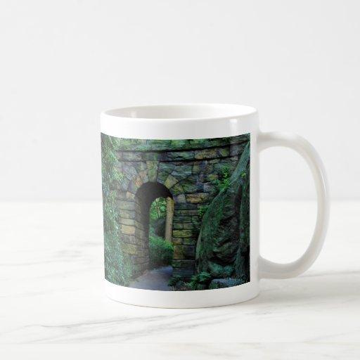Central Park: Ramble Stone Arch Classic White Coffee Mug