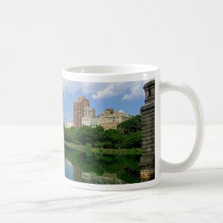 central park reservoir coffee mug