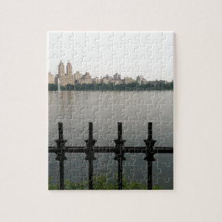 Central Park Reservoir, New York City Jigsaw Puzzle