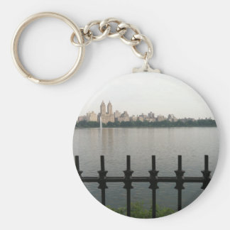 Central Park Reservoir New York City NYC Photo Keychain