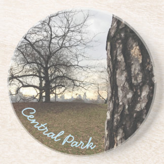 Central Park Reservoir New York City Sunrise NYC Drink Coaster
