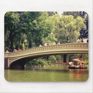 Central Park Romance - Bow Bridge - New York City Mouse Pad