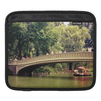 Central Park Romance - Bow Bridge - New York City Sleeve For iPads