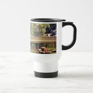 Central Park Romance - Bow Bridge - New York City Travel Mug