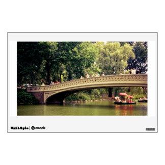 Central Park Romance - Bow Bridge - New York City Wall Sticker